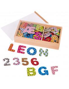 Magnetische Cijfers en Letters, 88dlg.