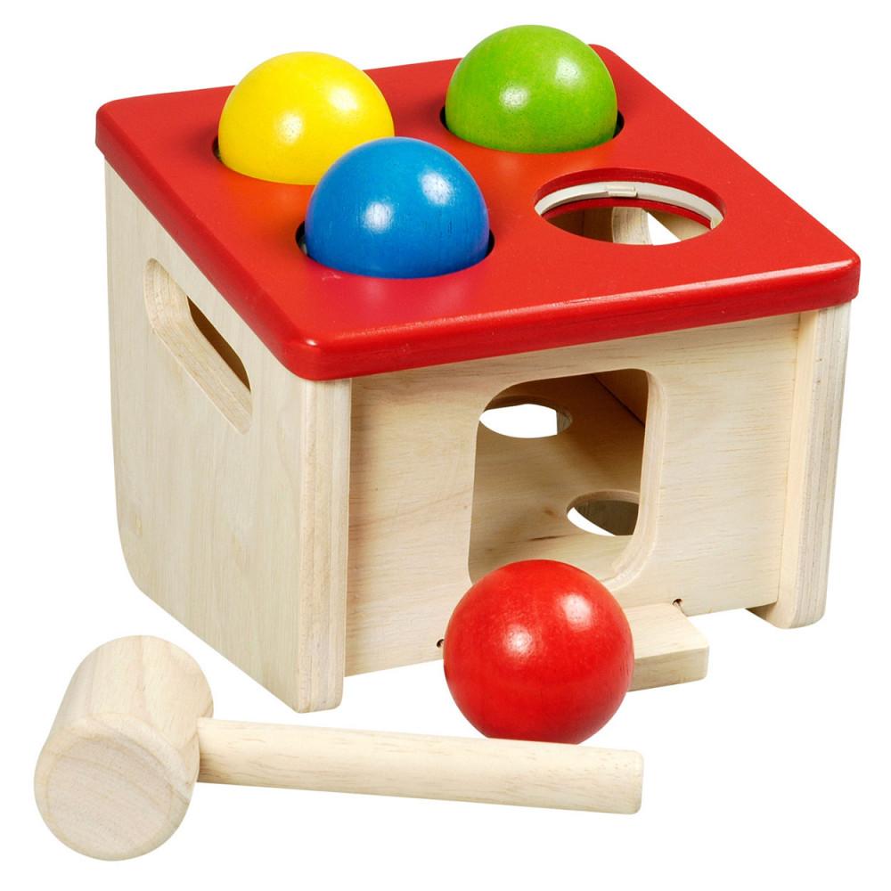 Houten Hamerspel Vang de Bal