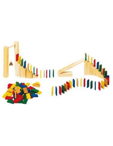 Domino Rally Hout, 250dlg