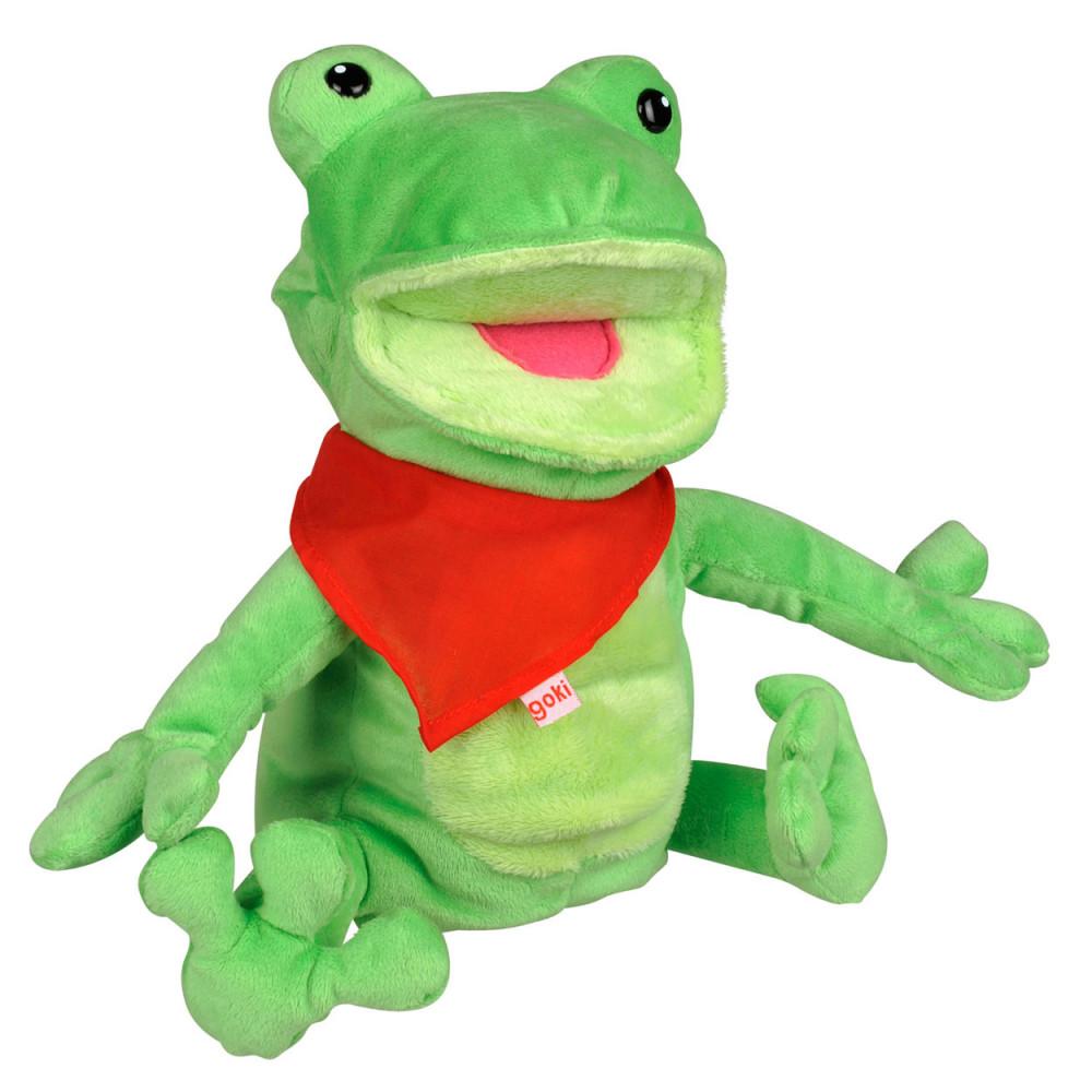 439c13c98a843e Goki Handpop Kikker online kopen? | SpeelgoedFamilie.nl
