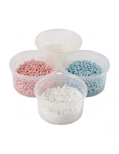 Pearl Clay Set - Blauw,Roze,Wit BT