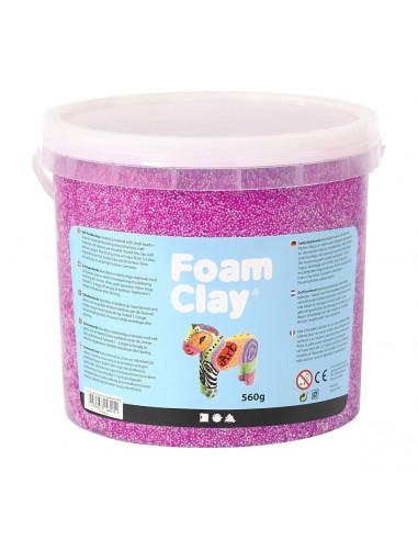 Foam Klei - Neon Paars, 560gr.