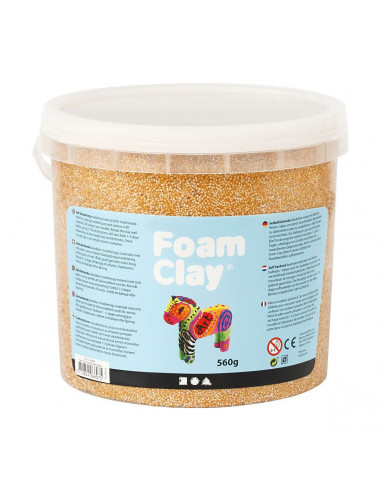 Foam Klei - Metallic Goud, 560gr.