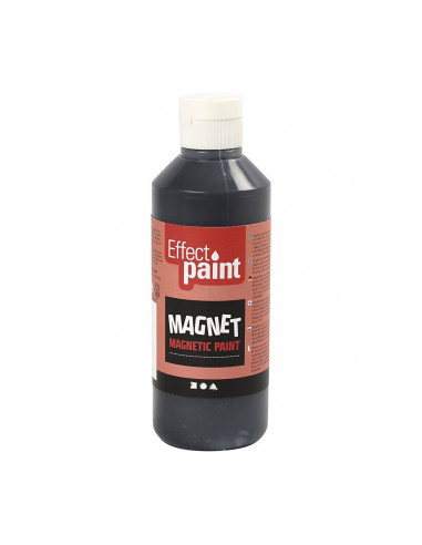 Magneetverf - Zwart, 250ml