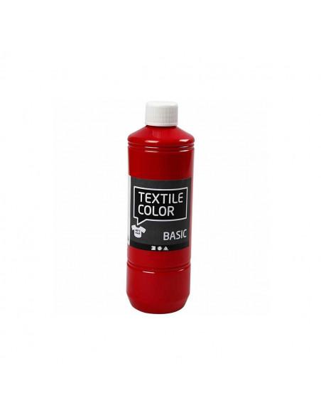 Textielverf - Rood, 500ml