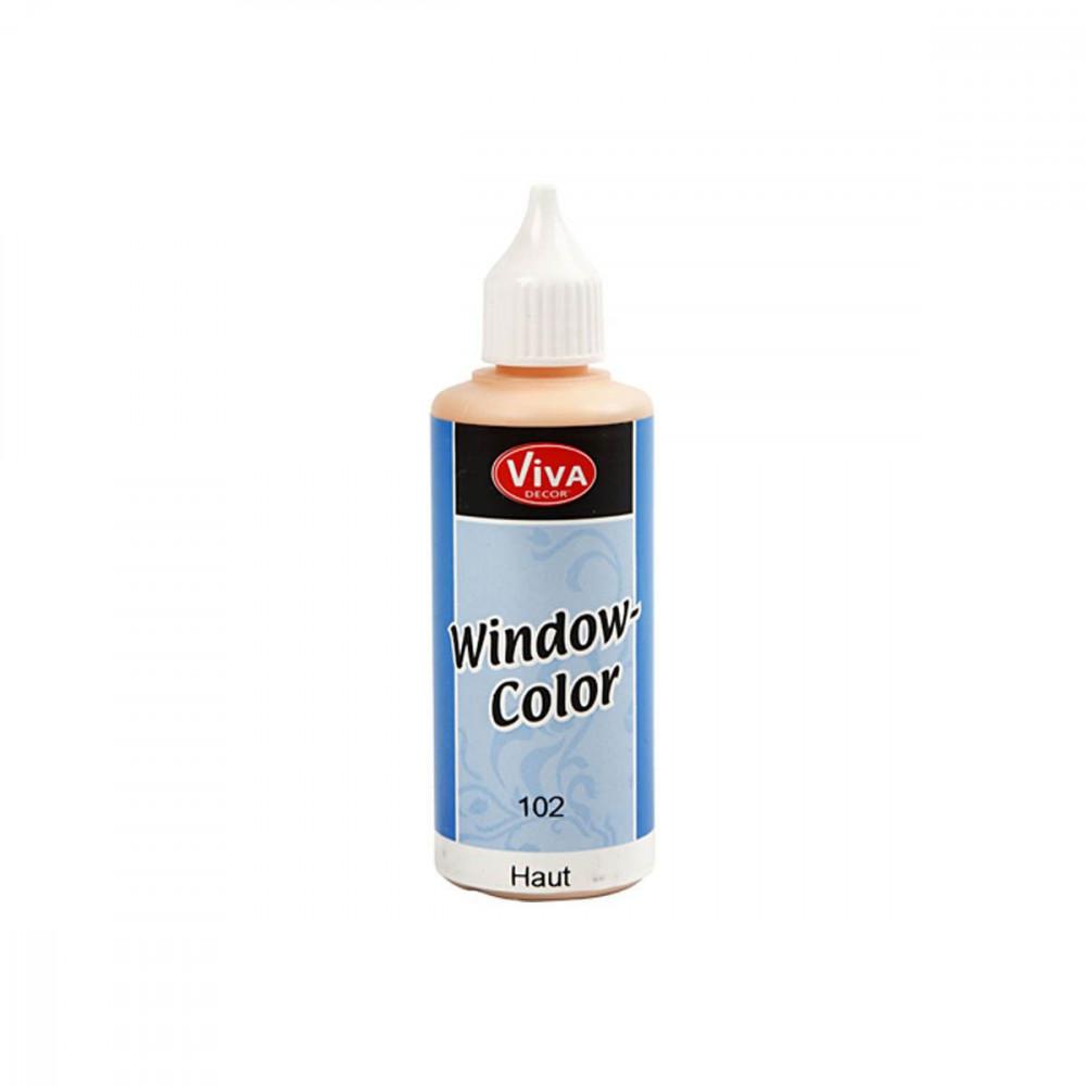 Sticker- en Glasverf - Huidskleur, 80ml