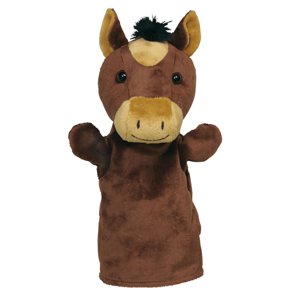 Goki Handpop Dier Paard