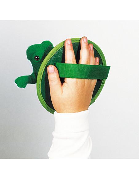 Kikker Vang-Werp Spel met Klittenband