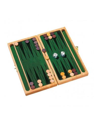 Houten Backgammon