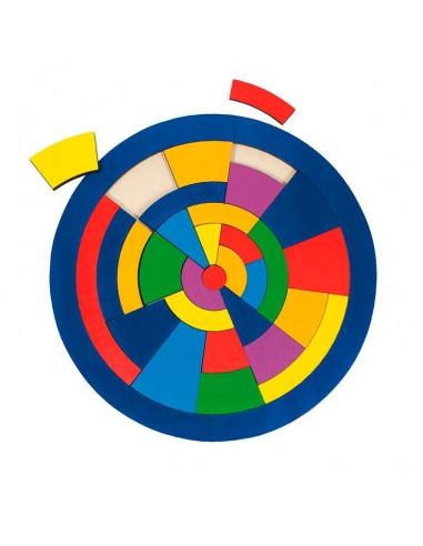Houten Cirkel Puzzel