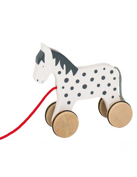 Houten Trekdier Paard