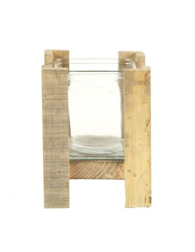 Waxinelichthouder Sil Grey-Wash, 16cm