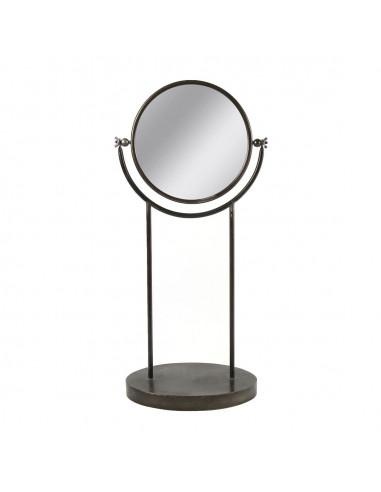 Spiegel Brian op Voet Zwart, 63cm