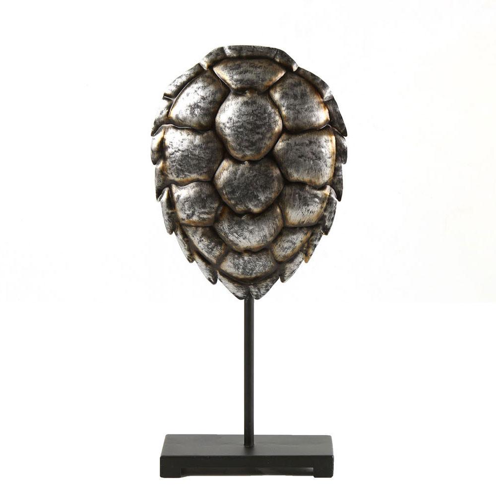 Decoratie Schildpad op Voetstuk, 42cm
