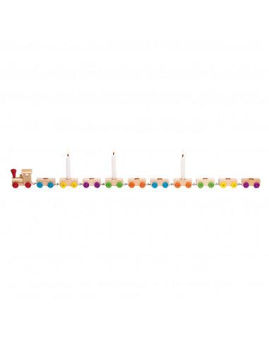 Houten Verjaardagstrein, 75cm