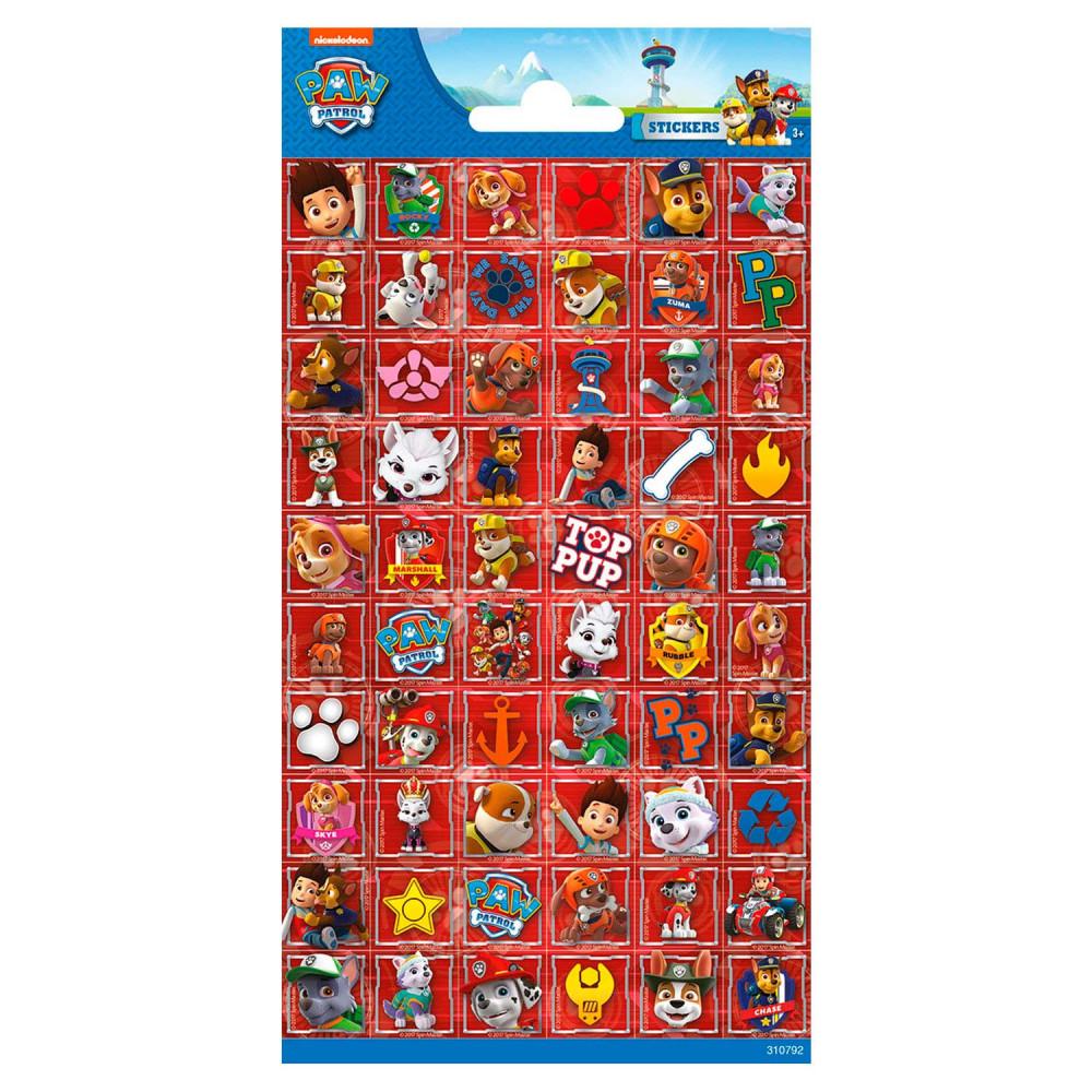 Stickervel Paw Patrol BT