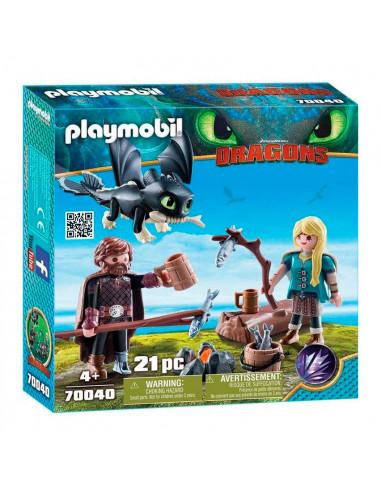 Playmobil Dragons 70040 Hikkie en...