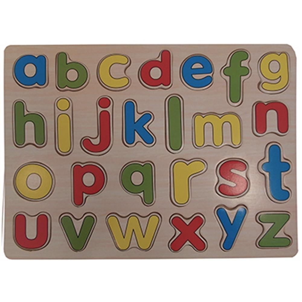 Houten Puzzel Alfabet