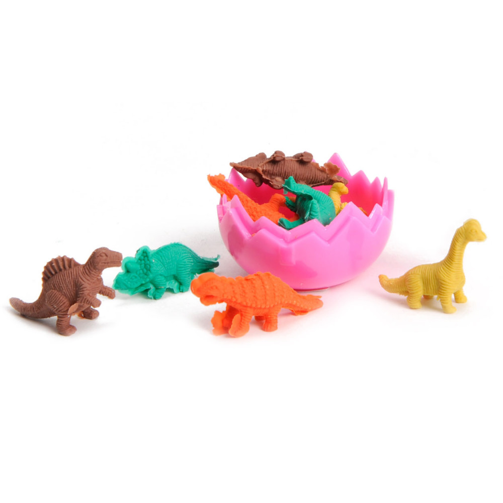 Dino Gum in Ei, 8st.