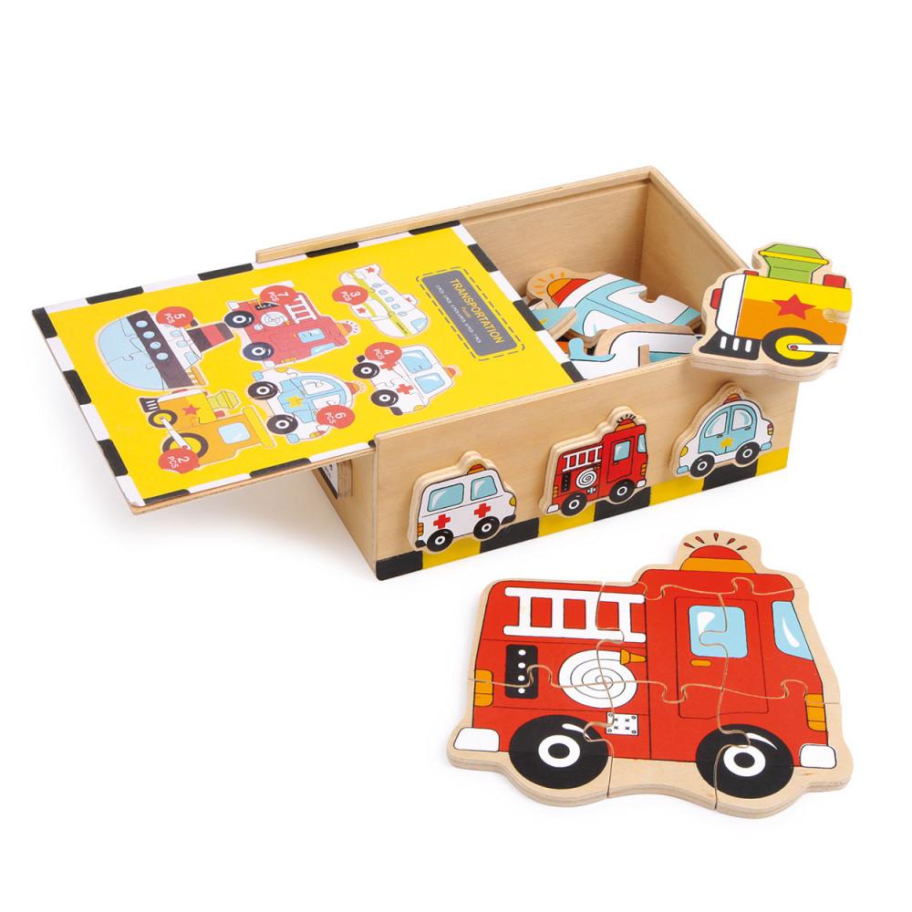 Puzzel-box Voertuigen