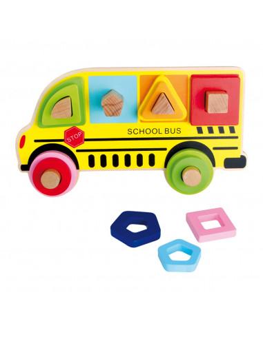 Steekspeel Schoolbus