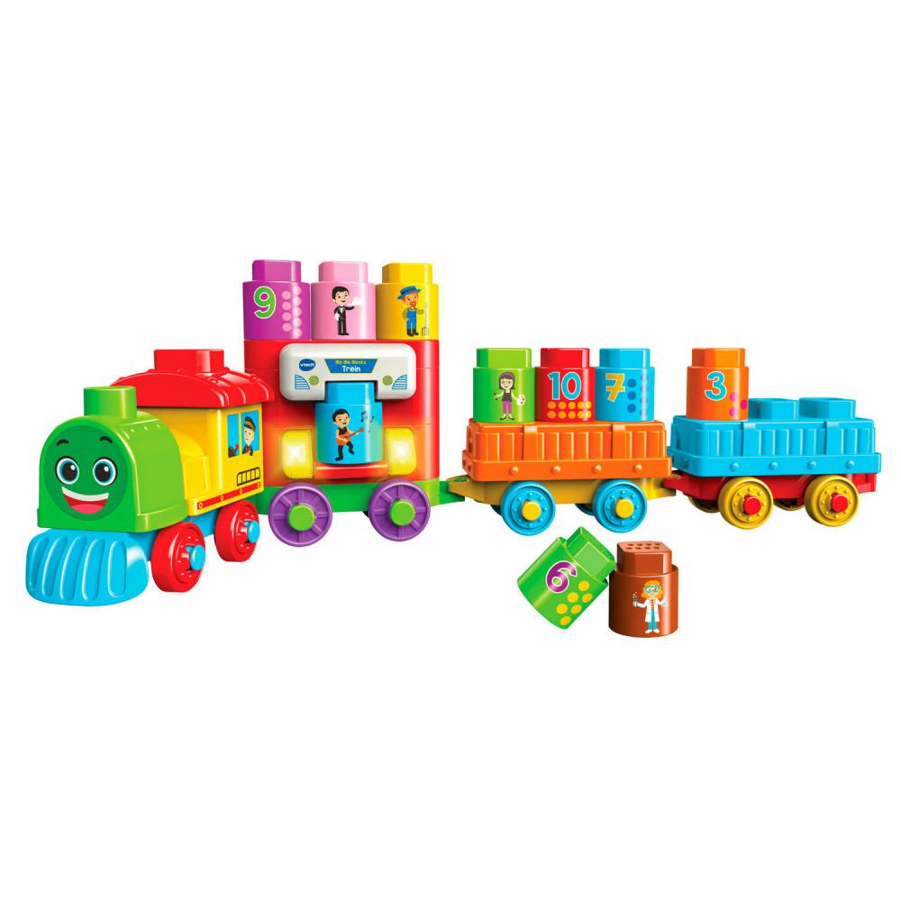 VTech Bla Bla Blocks - Trein