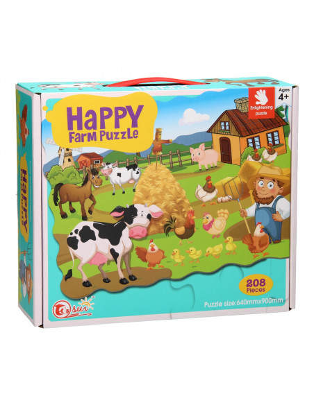 Happy Farm Puzzel, 208st.