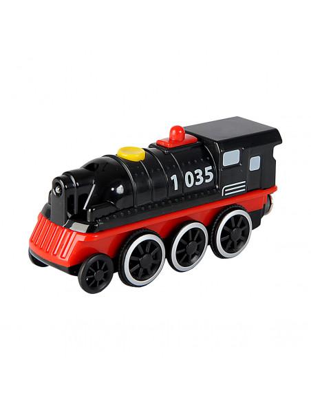 Eichhorn Houten Locomotief 4WD 1 stuk BT