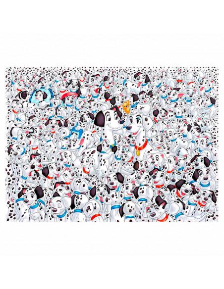 Clementoni Impossible Puzzel 101 Dalmatiers, 1000st.
