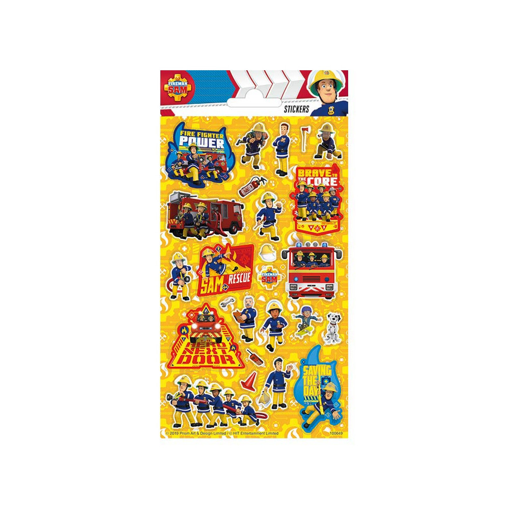 Stickervel Twinkle - Brandweerman Sam