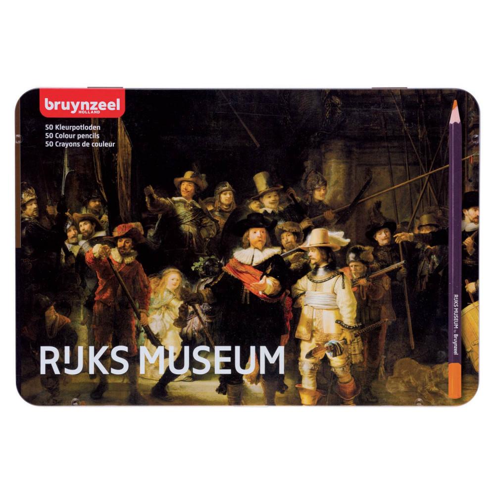 Bruynzeel Rijksmuseum Kleurpotloden, 50st.