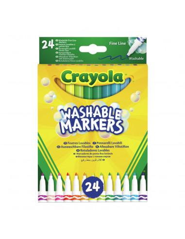Crayola Viltstiften met Dunne Punt,...