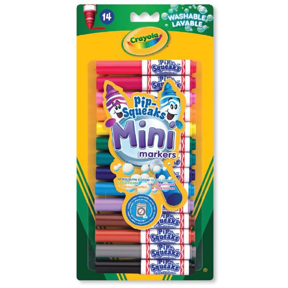 Crayola Mini Afwasbare Viltstiften, 14st.