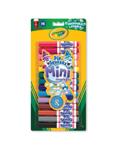 Crayola Mini Afwasbare Viltstiften,...