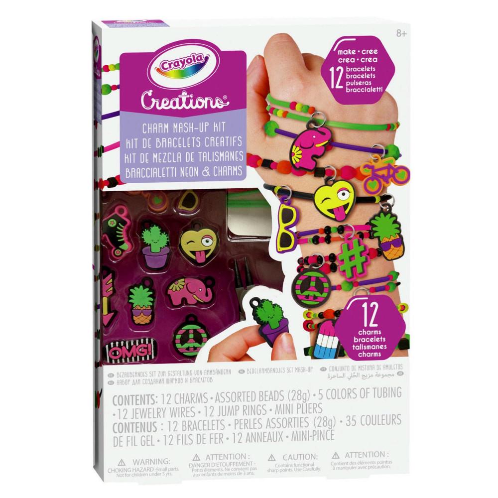 Crayola Creations Neon Armbandjes Set