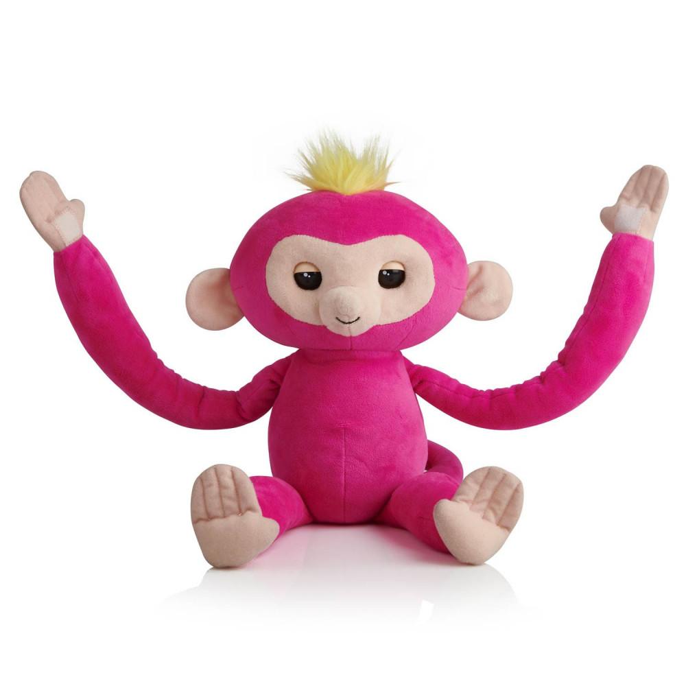 Fingerlings Hugs Bella Interactieve Aap Knuffel 40cm Online Kopen