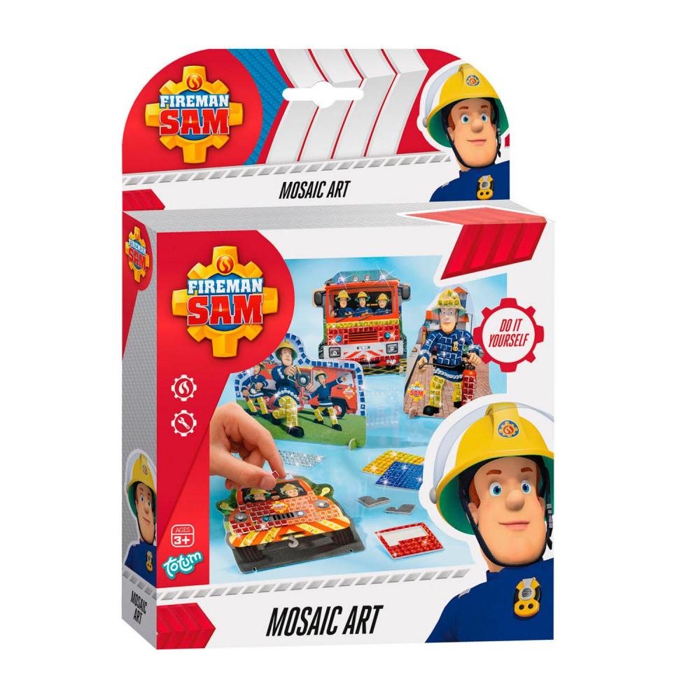 Totum Brandweerman Sam - Mozaiek Set