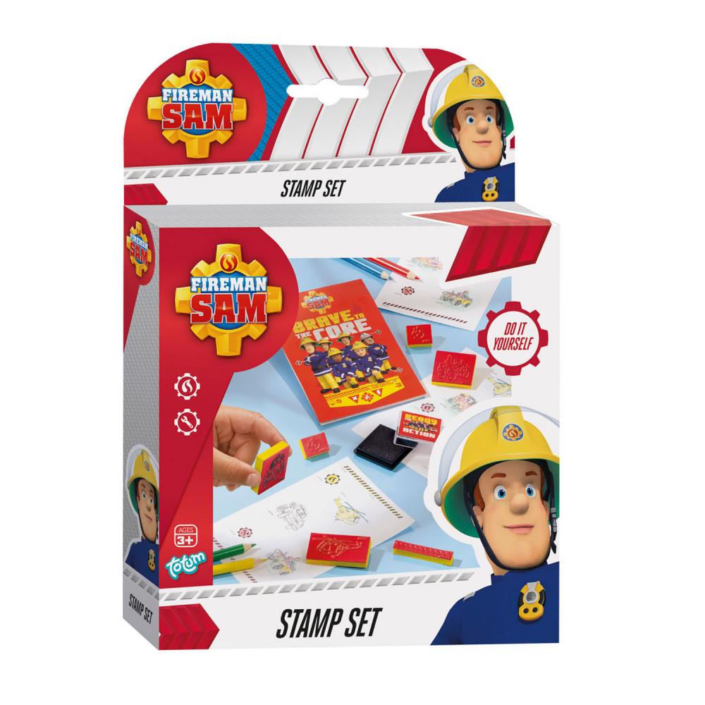 Totum Brandweerman Sam - Stempel Set