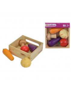 Eichhorn Houten Kistje met Groenten