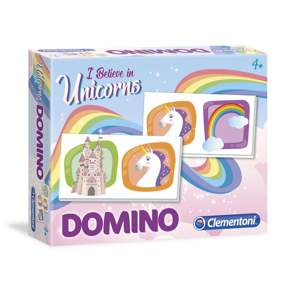Clementoni Eenhoorn Domino