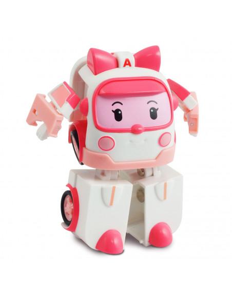 Robocar Poli Mini Transforming Robot - Amber