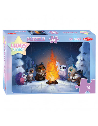 Lumo Stars Puzzel - By the Fire, 56st.