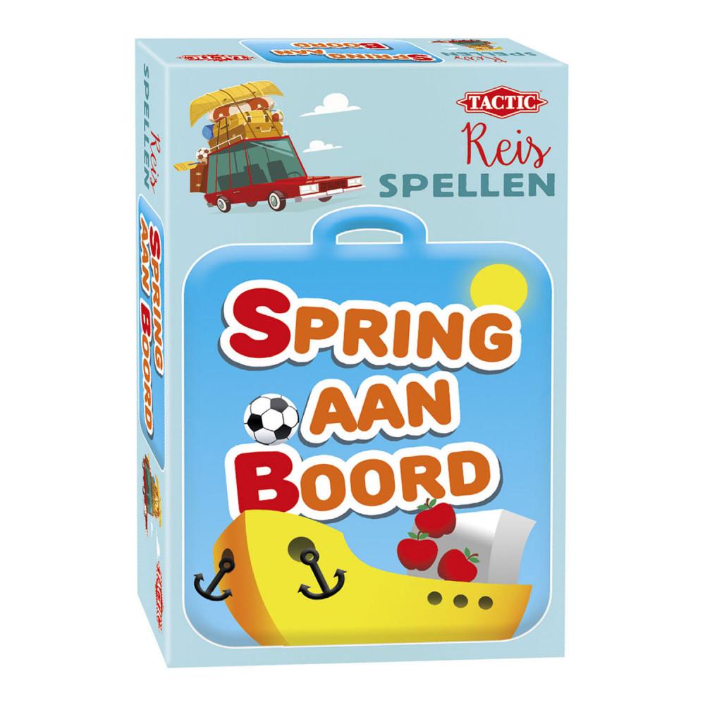 Reisspel Spring aan Boord