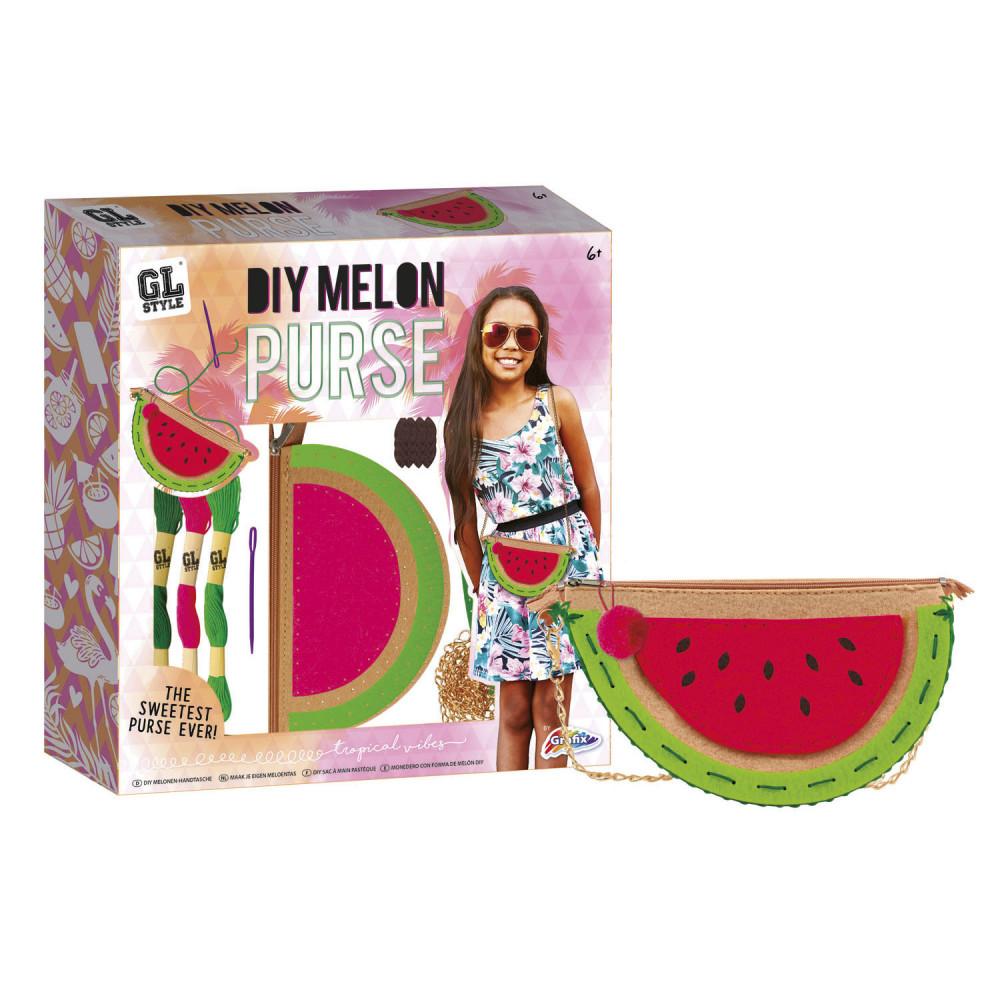 Maak je eigen Watermeloen Schoudertasje