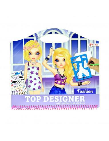 Schetsboek Fashion met Stickers en...