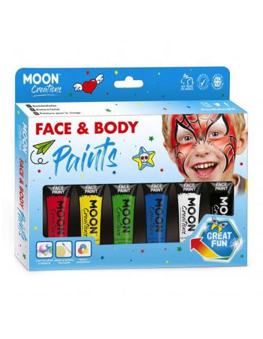 Face & Body Paint Verfset - Primaire...