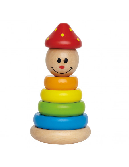 Hape Houten Stapel Clown