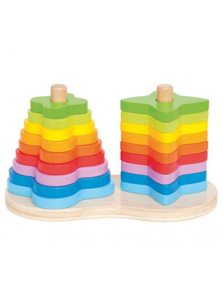 Hape Stapeltoren Regenboog