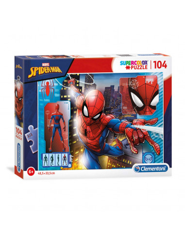 Clementoni Puzzel Spiderman, 104st.