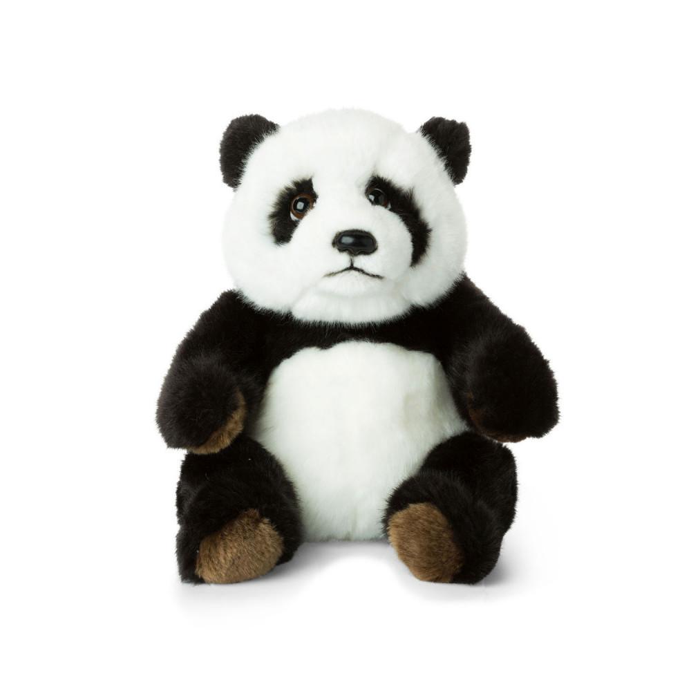 WNF Pluche - Panda Zittend, 22cm